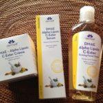 iHerb おすすめ Derma-E-DMAE Alpha Lipoic C-Ester 化粧水&クリーム