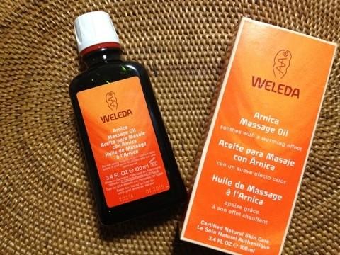 アイハーブで肩こりにおすすめのWeleda Arnica Massage Oil マッサージオイル