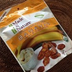 バナナのドライフルーツ Made in Nature Organic Bananas Dried & Unsulfured