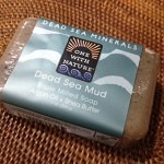 夏向けさっぱりな石鹸 One with Nature Dead Sea Salt Soap Bar