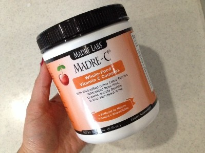 【ビタミンC】天然型 Madre Labs Madre-C Whole-Food Vitamin C Complex