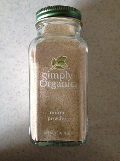 Simply Organic Onion Powder スープやドレッシングに使えてコクが増します