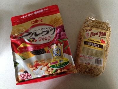 低糖で朝食に良いグラノーラ Bob's Red Mill Granola はナッツのビタミンEで抗酸化!