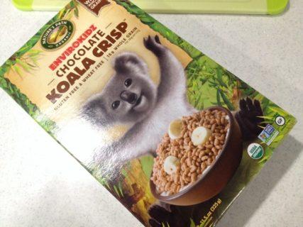 グルテンフリーシリアル Nature's Path EnviroKidz Organic Chocolate Cereal