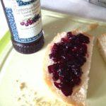 粒がゴロゴロSt. Dalfour Cranberry with Blueberry Fruit Spreadジャムは無加糖でオーガニック!