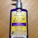 Avalon Organics CoQ10 クレンジングミルク使用レビュー