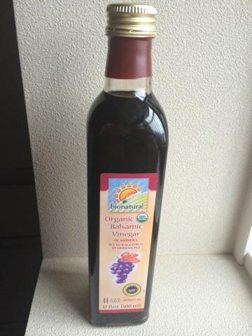 【バルサミコ酢】 Bionaturae Organic Balsamic Vinegarの美容効果がすごい