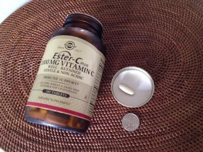 【ビタミンC】新型タイムリリースビタミンC Solgar, Ester-C