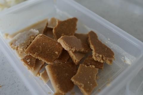 ココナッツオイルで作ったチョコレートの参考画像