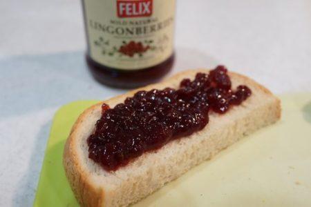 ジャムで抗酸化 Felix ワイルド・ナチュラル・コケモモ リンゴベリー