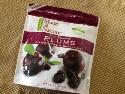 便秘解消 Made in Nature Organic Plums :アイハーブおすすめブログ