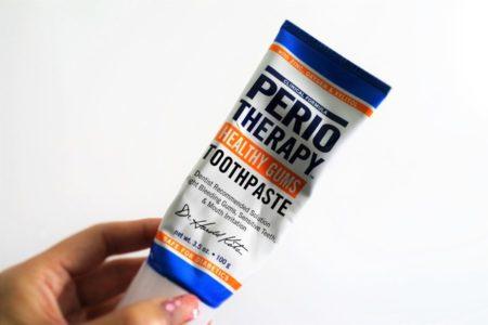 ユビキノール配合歯磨き粉で歯肉炎予防 TheraBreath PerioTherapy Healthy Gums Toothpaste