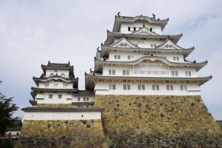 姫路城はもっと白かった