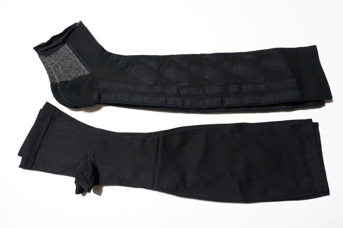 浮腫みとり靴下比較 ムクミキュアVSおうちでメディキュット