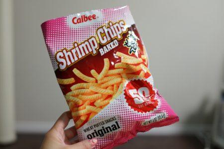 【Baked chips】アメリカのかっぱえびせんはカリカリしてて味が濃い!
