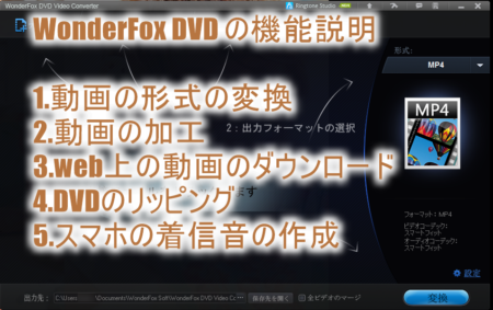 DVDのコピーやリッピングができるソフト!