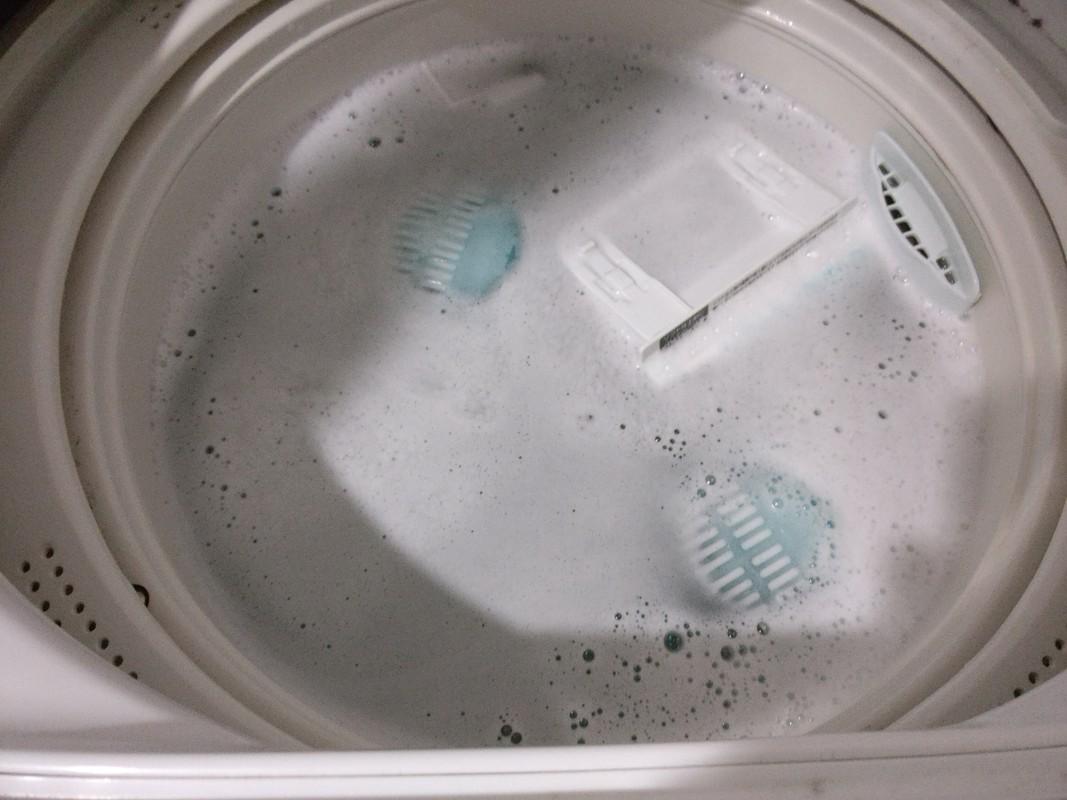 洗濯機の掃除には過炭酸ナトリウム!