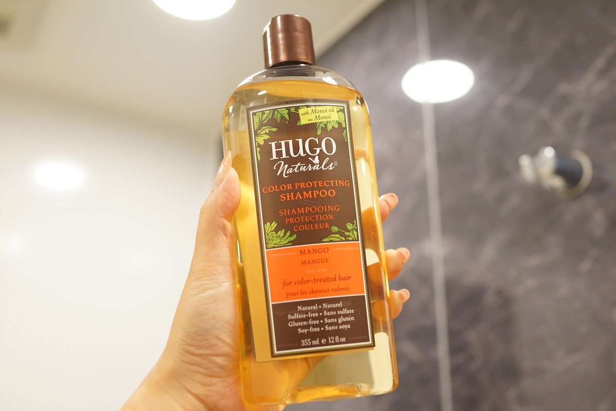 【シャンプー】Hugo Naturals, カラー保護シャンプー【カラーケア】