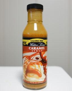 【ダイエット甘味料】ノンカロリー・ノンシュガーなWalden Farmsキャラメルシロップ